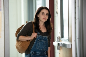 "In this image released by CBS Films, Mae Whitman appears in a scene from ""The DUFF."" (AP Photo/CBS Films, Guy D Alema)"