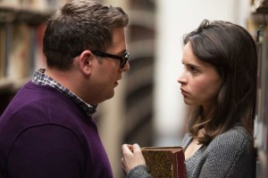 "TRUE STORY - 2014 FILM STILL - Jonah Hill as ""Mike Finkel"" and Felicity Jones as ""Jill Finkel"" - Photos Credit: Mary Cybulski.    Copyright © 2015 Twentieth Century Fox Film Corporation All Rights Reserved."