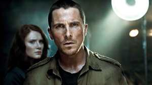 """TS-FP-00145r BRYCE DALLAS HOWARD (left) as Kate Connor and CHRISTIAN BALE as John Connor in Warner Bros. Pictures' action/sci-fi feature """"Terminator Salvation,"""" a Warner Bros. Pictures release, also starring Sam Worthington. PHOTOGRAPHS TO BE USED SOLELY FOR ADVERTISING, PROMOTION, PUBLICITY OR REVIEWS OF THIS SPECIFIC MOTION PICTURE AND TO REMAIN THE PROPERTY OF THE STUDIO. NOT FOR SALE OR REDISTRIBUTION. ALL RIGHTS RESERVED."""