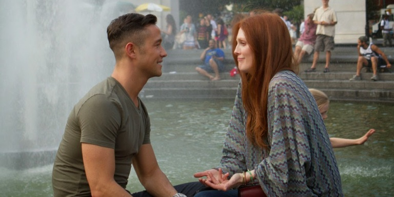 Joseph Gordon-Levitt og Julianne Moore i Don Jon