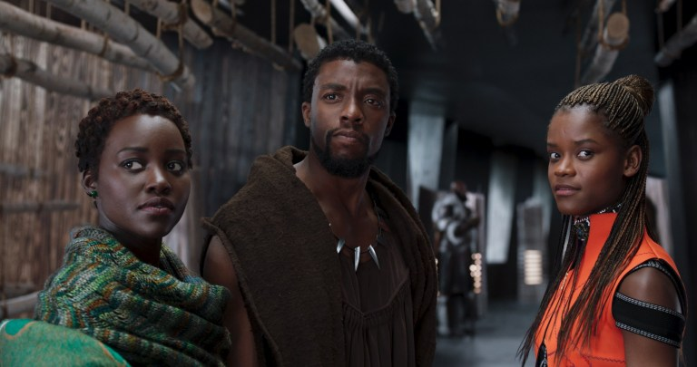 Nakia-TChalla-and-Shuri-in-Black-Panther
